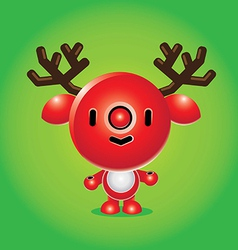 Rudolph Character vector image