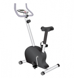 bike for exercises vector image