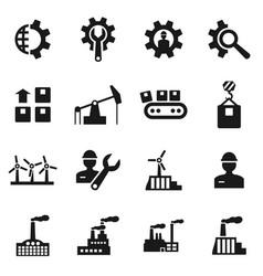 Industrial icon vector