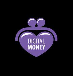 logo purse vector image