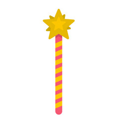 Magic wand icon isolated vector