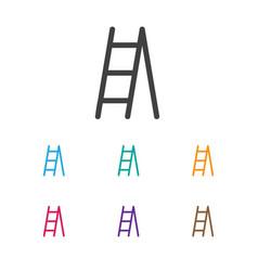 of planting symbol on ladder vector image