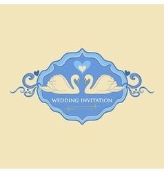 Wedding Labels Logo vector image vector image