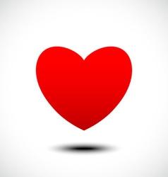 Heart shape symbol design vector