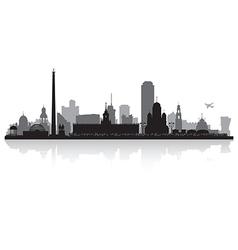 Yekaterinburg russia city skyline silhouette vector