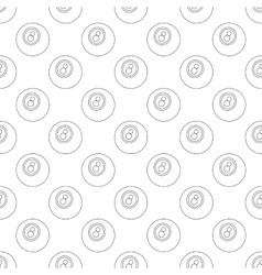 Eightball pattern seamless vector