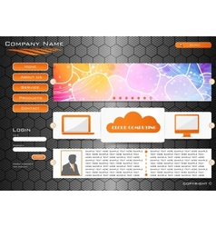 Web site design vector