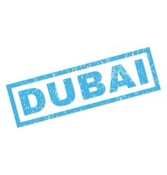Dubai rubber stamp vector