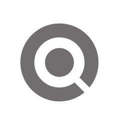 Letter q logo concept icon vector
