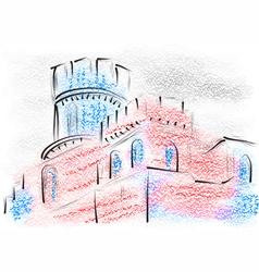 Lincoln castle vector