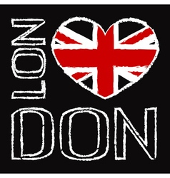 London City t shirt 2 vector image