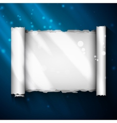magic scroll vector image vector image