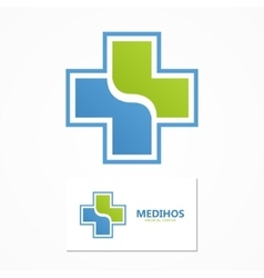 medical logo Health logo vector image vector image