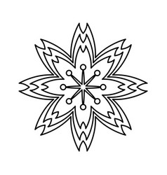 sakura flowers traditional symbol of spring in vector image vector image