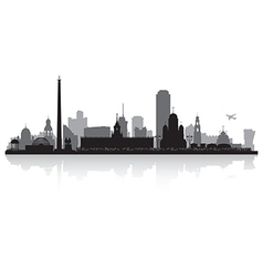 Yekaterinburg russia city skyline silhouette vector