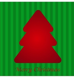 Colorful with Christmas tree vector image