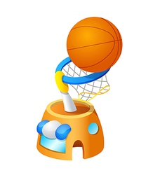 Icon basketball vector