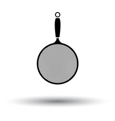 kitchen colander icon vector image