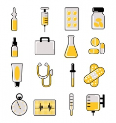 medical icon vector image