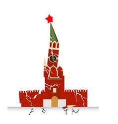 Moscow kremlin destruction earth-fault earthquake vector