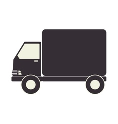 Truck delivery transport icon vector