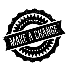 Make a change stamp vector