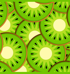 Slices of kiwi vector