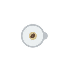 Flat icon espresso element of vector