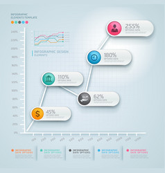 3d infographics diagram business vector