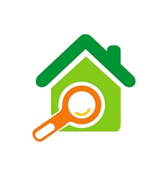 Home realty sold marketing logo vector