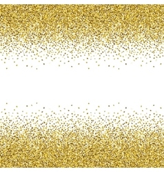 Glitter golden texture vector