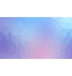 Blue gradient abstract polygon background vector