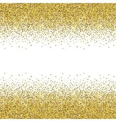 Glitter golden texture vector
