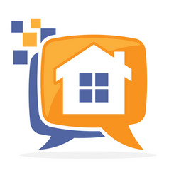 Logo icon for digital media vector