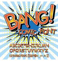 Comic sans vector
