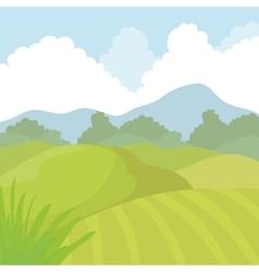 Agriculture icon landscape concept vector