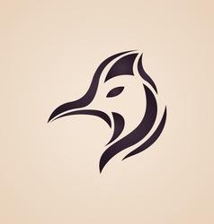 Cassowary logo vector