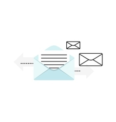 Contact concept message vector