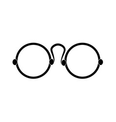 glasses icon image vector image