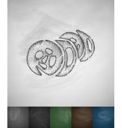 kimpab icon Hand drawn vector image