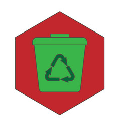 Recycle garbage vector
