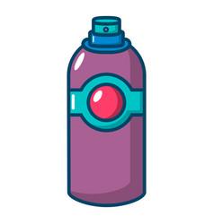 spray deodorant icon cartoon style vector image
