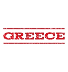 Greece watermark stamp vector