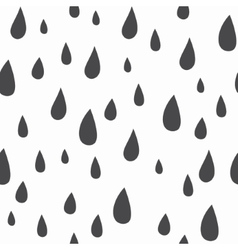 Baby seamless pattern Light fun rain print vector image