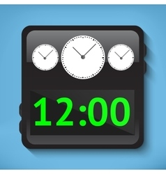 Digital watches vector image