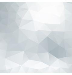 Gray polygonal background vector image