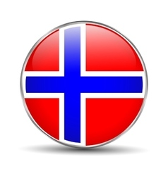 Norway flag vector