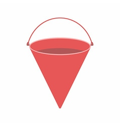 Fire bucket vector