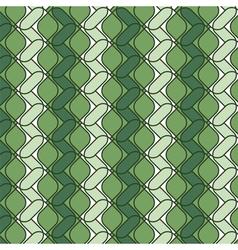 ornamental green color backdrop vector image vector image