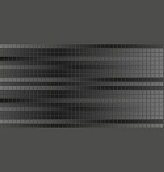 Dark grey pixelated squares mosaic background vector